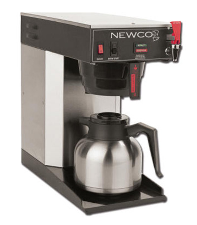 Traditional office coffee equipment in San Francisco Bay Area