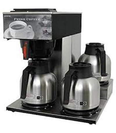Traditional office coffee equipment for San Francisco Bay Area businesses